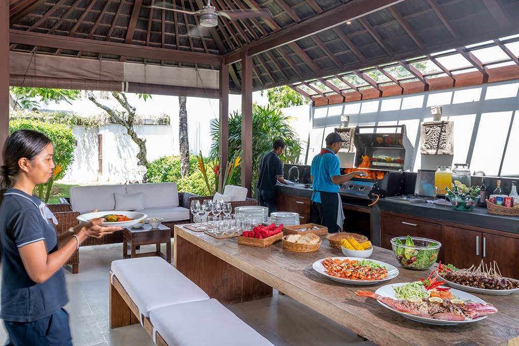 culinary at villa uluwatu