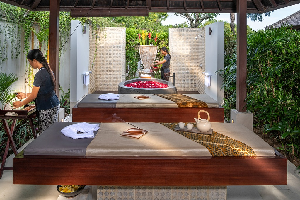 spa services at villa uluwatu